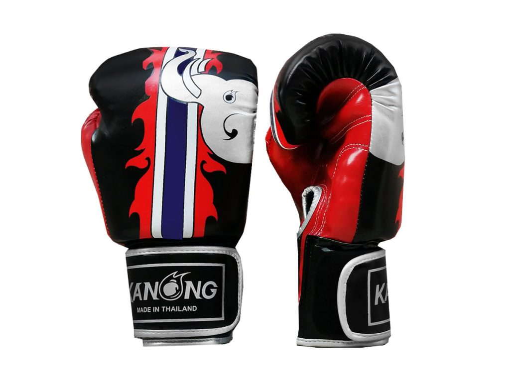 Black Muay Thai Gloves
